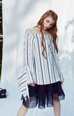 Блуза Синяя Trends Brands 119412