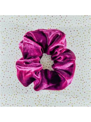 Резинка для волос Bizon. Цвет: малиновый
