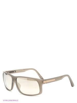 Солнцезащитные очки Porsche Design. Цвет: серый, коричневый