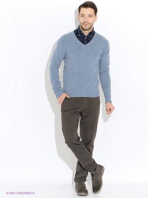 Пуловер Eden Park. Цвет: голубой