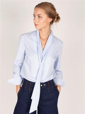 Рубашки ЛитанияMIR. Цвет: голубой