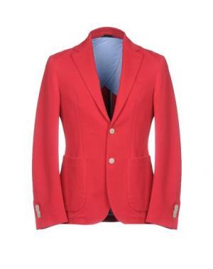 Пиджак DOMENICO TAGLIENTE. Цвет: красный
