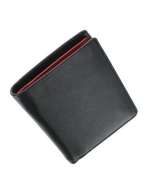 Бумажник Saber Visconti. Цвет: черный,красный