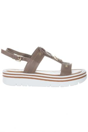 Flat  sandals Repo. Цвет: beige