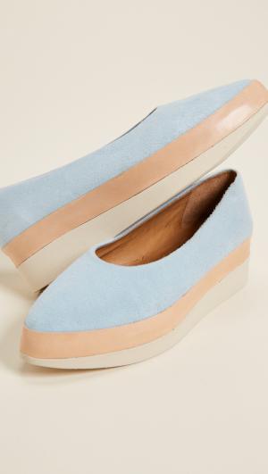 Perl Platform Flats Coclico Shoes