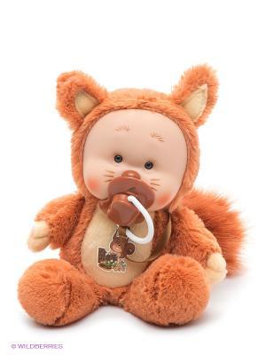 Игрушка Бельчонок Ноя Yogurtinis. Цвет: коричневый