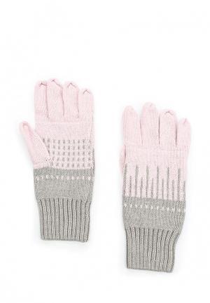 Перчатки Luhta. Цвет: розовый