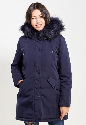 Куртка утепленная Laura Jo. Цвет: синий