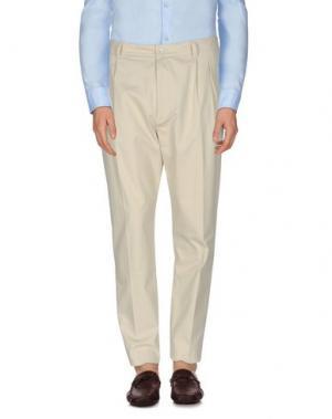 Повседневные брюки QASIMI. Цвет: бежевый