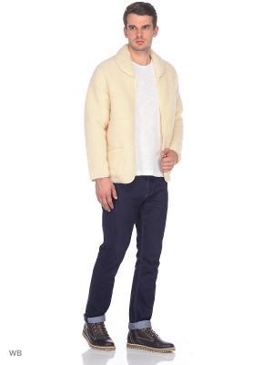 Куртка ALWERO. Цвет: молочный