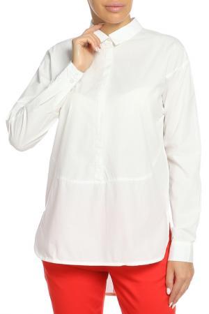 Рубашка ICHI. Цвет: 10111 молочный