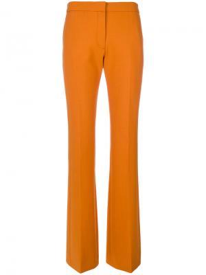 Брюки клеш Victoria Beckham. Цвет: жёлтый и оранжевый