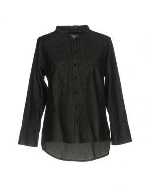 Джинсовая рубашка LE MONT ST MICHEL. Цвет: черный