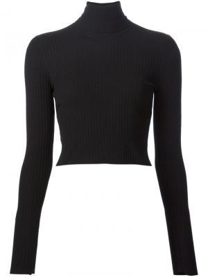 Укороченный свитер A.L.C.. Цвет: чёрный