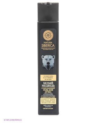 Гель для душа Бодрящий медведь Natura Siberica. Цвет: прозрачный
