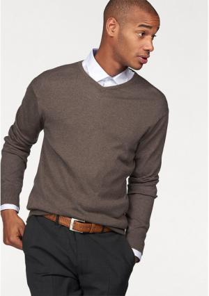Пуловер Class International. Цвет: бежевый, синий, темно-серый, черный