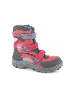 Ботинки Bartek. Цвет: розовый,серый