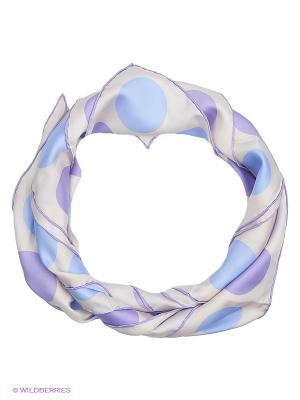 Платок Eleganzza. Цвет: серый, голубой, фиолетовый