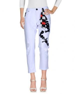 Джинсовые брюки SUPERPANTS. Цвет: белый