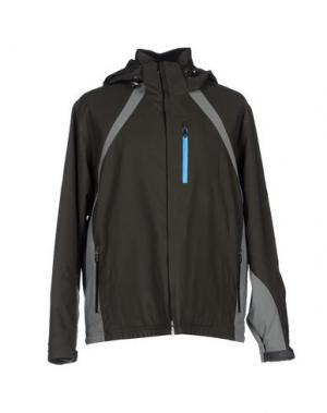 Куртка SPYDER. Цвет: темно-зеленый