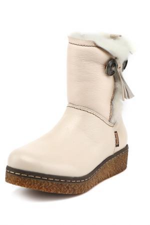 Ботинки DOCKERS. Цвет: белый