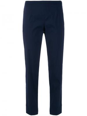 Укороченные брюки Prada. Цвет: синий
