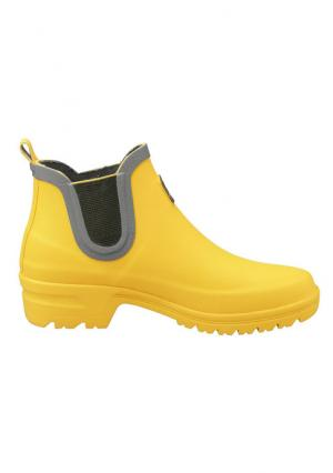 Резиновые сапоги Heine Home. Цвет: желтый