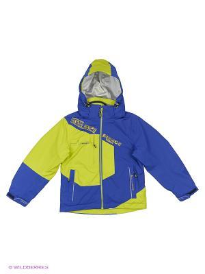 Куртка 3 в 1 High Experience. Цвет: синий, желтый