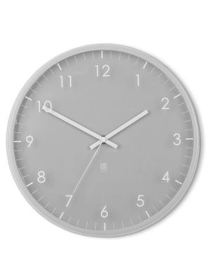 Часы настенные PACE серый Umbra. Цвет: серый
