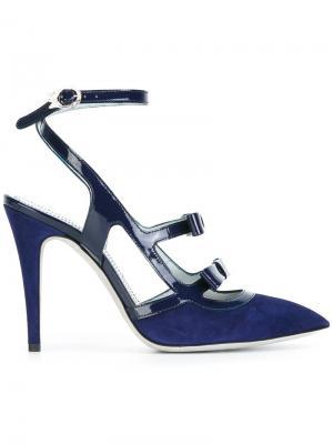 Туфли-лодочки Emi Rayne. Цвет: синий