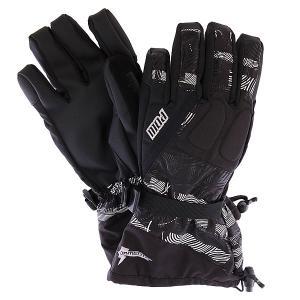 Перчатки сноубордические  Tormenta Glove Gauntlet Print Pow. Цвет: черный