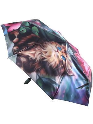 Зонт Trust. Цвет: малиновый, голубой