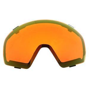 Линза для маски  Lens Jetpack Fire Chrome Von Zipper. Цвет: оранжевый