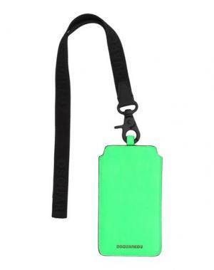 Аксессуар для техники DSQUARED2. Цвет: зеленый