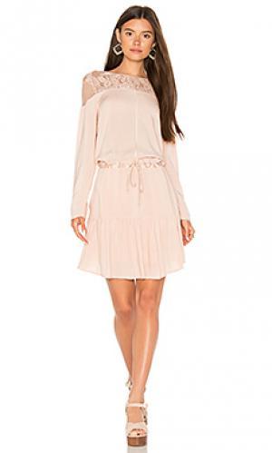 Платье-футляр heirloom Flannel Australia. Цвет: румянец