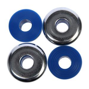 Амортизаторы для скейтборда  Standard Cylinder Cushions Medium Hard 92a Blue Independent. Цвет: синий,серый