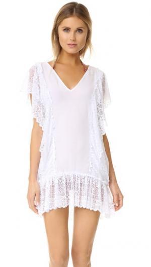 Пляжное платье Antigua Peixoto. Цвет: белый