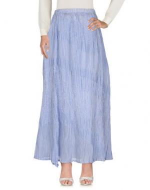 Длинная юбка ZUCCA. Цвет: лазурный