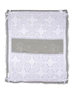 Одеяльце для младенцев LADIA. Цвет: светло-серый
