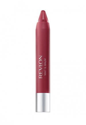 Бальзам для губ Revlon. Цвет: бордовый