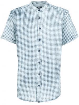Рубашка в клетку Publish. Цвет: синий