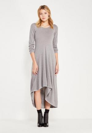 Платье Brusnika. Цвет: серый