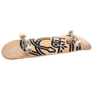 Скейтборд в сборе  Serpent Large Beige/Black 31.75 x 8.25 (20.9 см) Habitat. Цвет: бежевый,черный