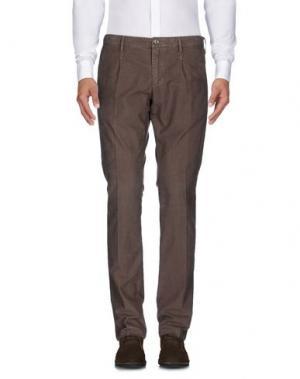 Повседневные брюки AT.P.CO. Цвет: коричневый