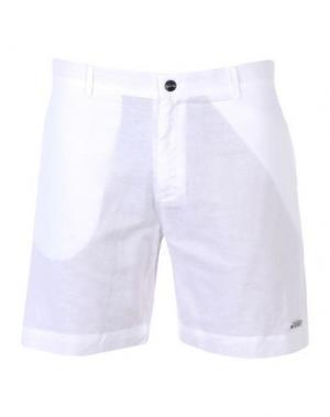 Пляжные брюки и шорты CALVIN KLEIN. Цвет: белый