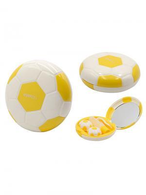 Набор для контактных линз Мяч А8062-С06 Germes. Цвет: желтый, белый