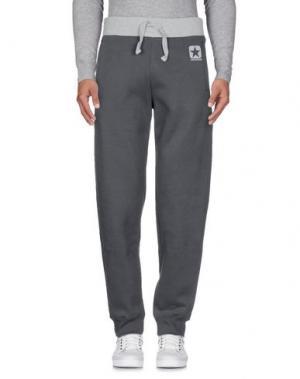 Повседневные брюки CONVERSE. Цвет: свинцово-серый