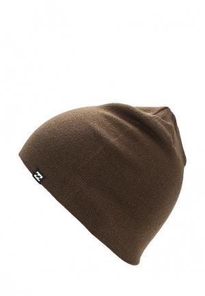 Шапка Billabong. Цвет: коричневый