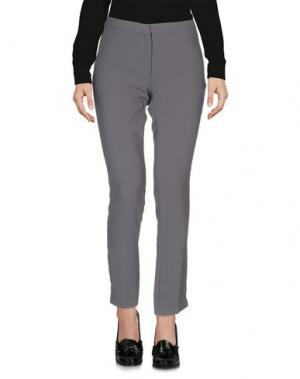 Повседневные брюки MAESTA. Цвет: свинцово-серый