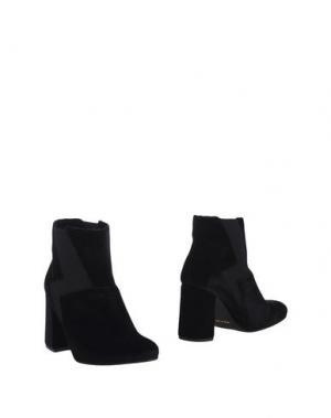 Полусапоги и высокие ботинки NOW. Цвет: черный